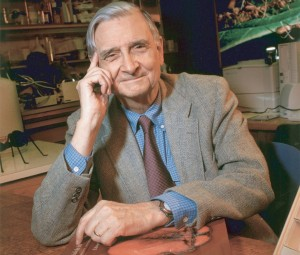 Biologist and naturalist, E. O. Wilson.