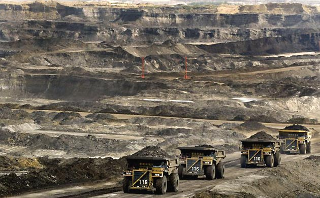 The destruction from the Canadian tar sands