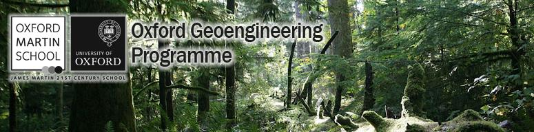 Geoengineering is the deliberate large-scale intervention in the Earth's natural systems to counteract climate change.