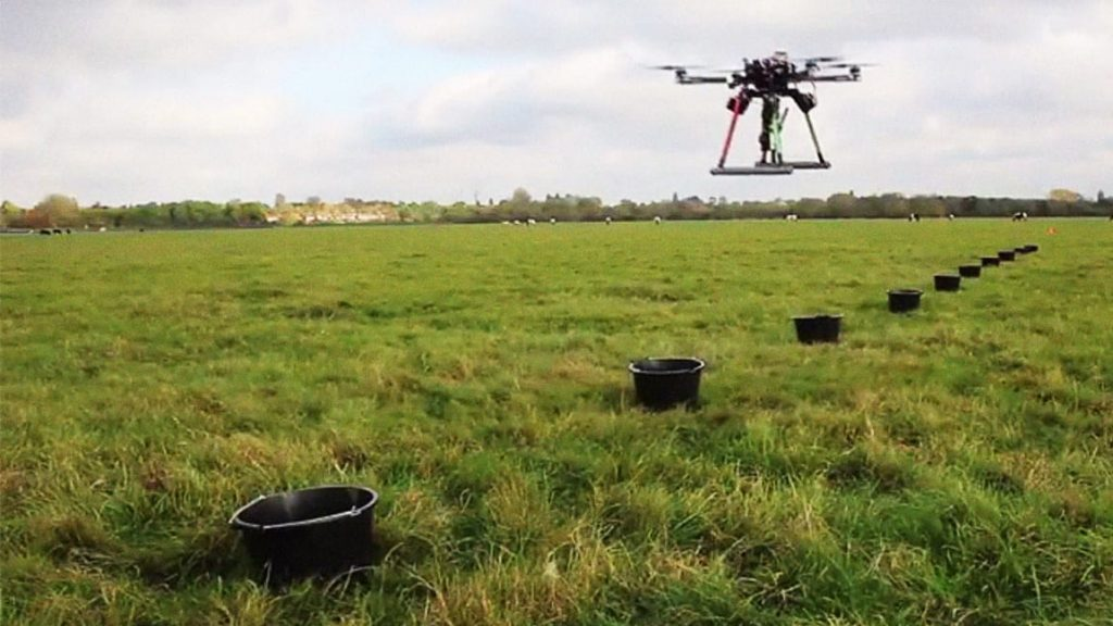 drone planting trees